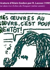 Cartoon of Alain Godon