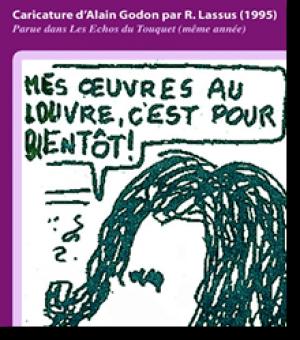 Caricature d'Alain Godon