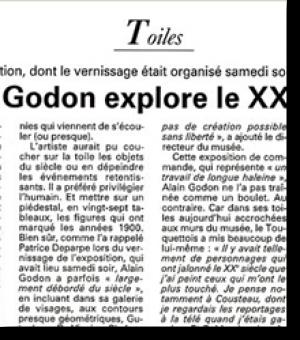 Alain Godon explore...