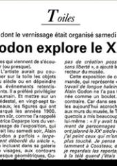 Alain Godon explores...