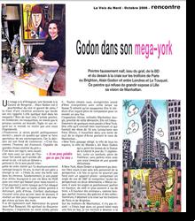 Godon dans son mega-york