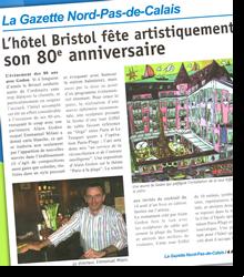 L'hôtel Bristol fête artistiquement...
