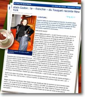 """The """"Frenchie"""" from Le Touquet talks"""