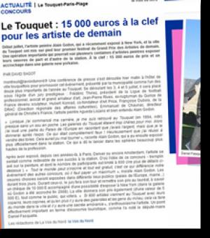 15 000 euros à la clef pour l'artiste de demain