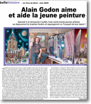 Alain Godon loves and assists...