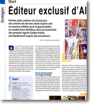 Alain Godon's exclusive publisher