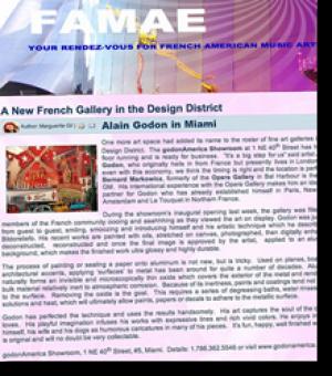 Alain Godon à Miami