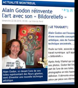 Alain Godon reinvents art ...