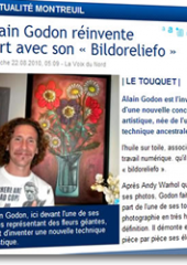 Alain Godon reinvents art ...
