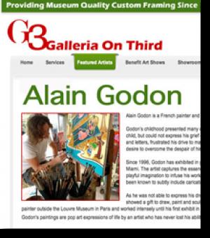 Since 1996, Alain Godon...