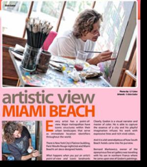Artistic view - Miami Beach