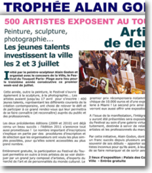 500 artists exhibit in Le Touquet