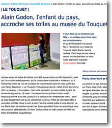 Alain Godon, l'enfant du pays...