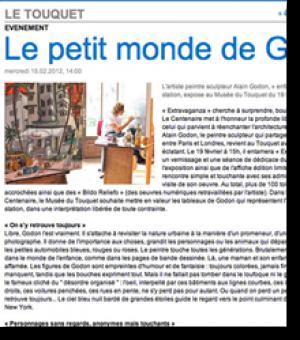 Alain Godon's little world...