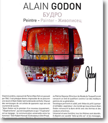L'oeuvre d'Alain Godon
