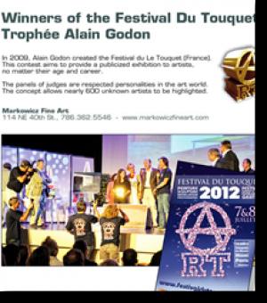 Les gagnants du Festival du Touquet