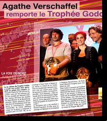 Agathe Verschaffel remporte le Trophée