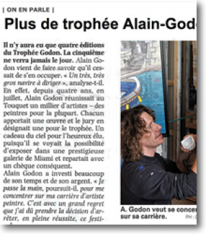 The Alain Godon Trophy is no more