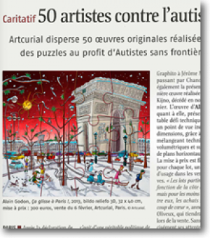 50 artists in action against autism