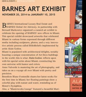 Barnes Art Exhibit