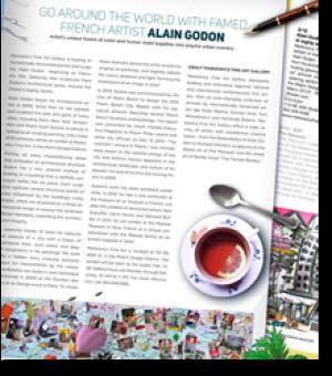 Faites le tour du monde avec  Alain Godon