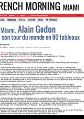Alain Godon et son tour du monde en 80 tableaux
