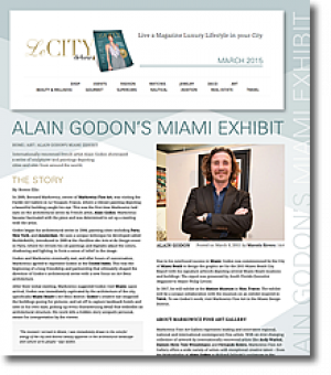 ALAIN GODON'S MIAMI EXHIBIT